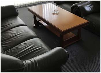 面談用の個室を完備